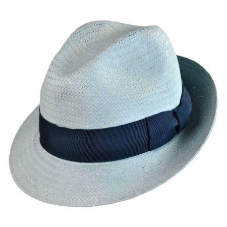 Bailey Lando Lite Straw Fedora Hat