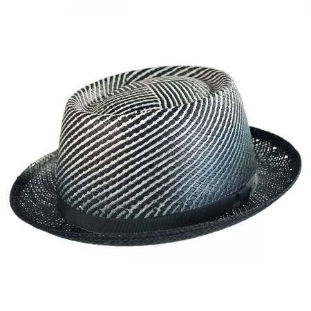 Bailey Davos Toyo Straw Fedora Hat