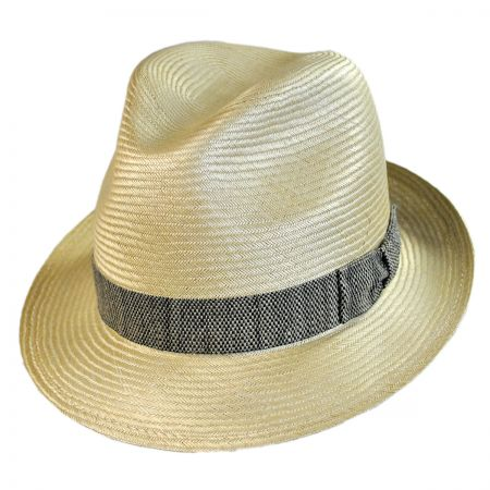 Bailey Meeker Bali Buntal Straw Fedora Hat