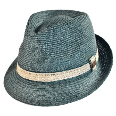 Bailey Raymus Abaca Braid Fedora Hat