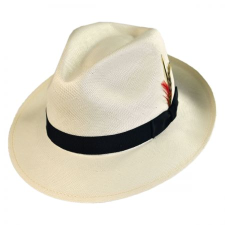 Bailey Crase Shantung LiteStraw Fedora Hat