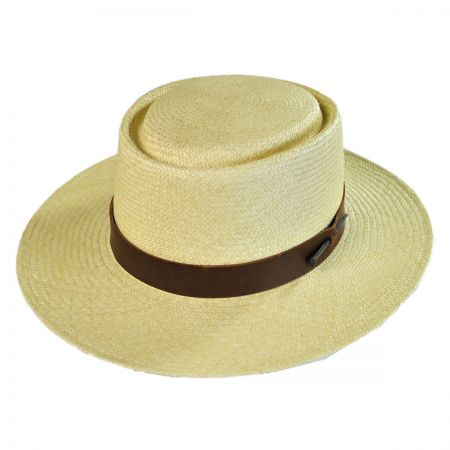 Bailey Tonasket Telescope Crown Panama Hat
