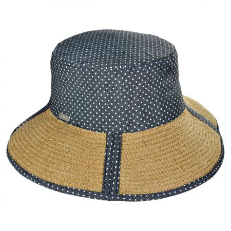 Betmar Giorgia Wide Brim Bucket Hat