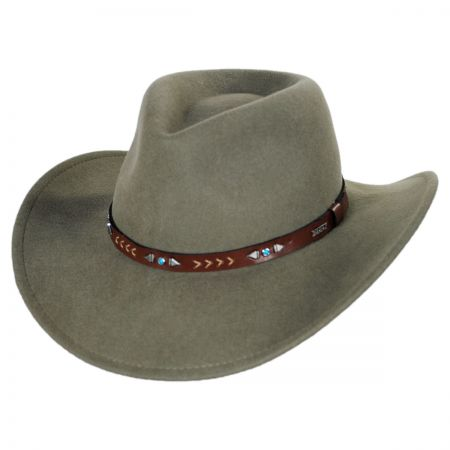Eddy Bros Broken Arrow Western Hat