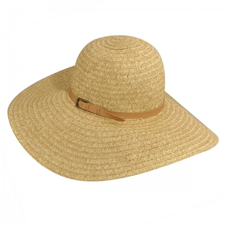 Betmar Ramona Braided Straw Swinger Hat