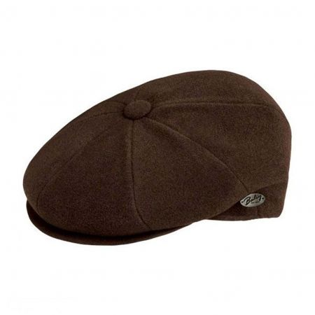 Bailey Galvin Solid Newsboy Cap