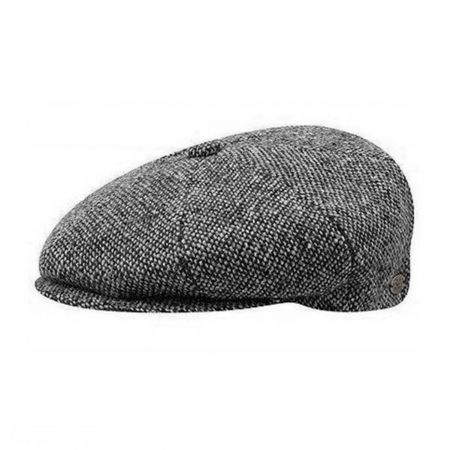 Bailey Galvin Tweed Newsboy Cap