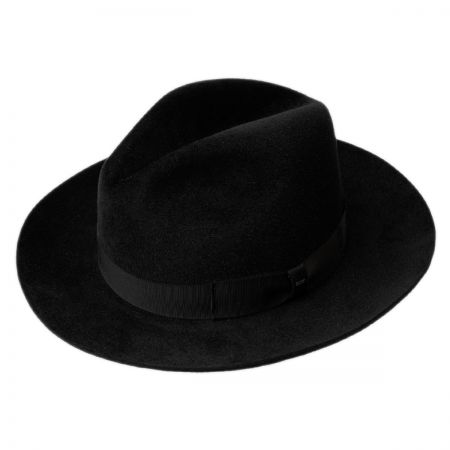 Bailey Lydon Fur Felt Pinch Crown Fedora Hat