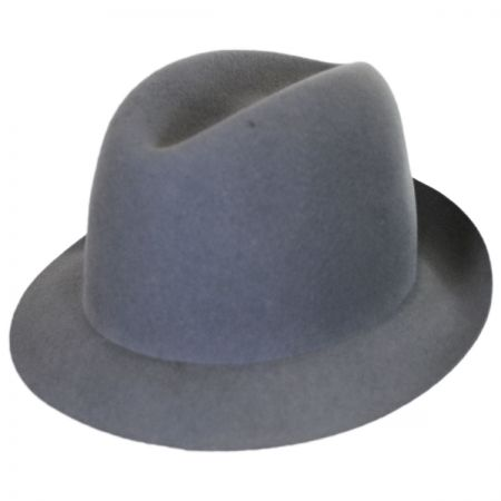 Bailey Chipman Wool Lite Felt Trilby Fedora Hat