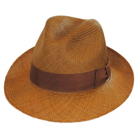 Thurman Panama Straw Fedora Hat
