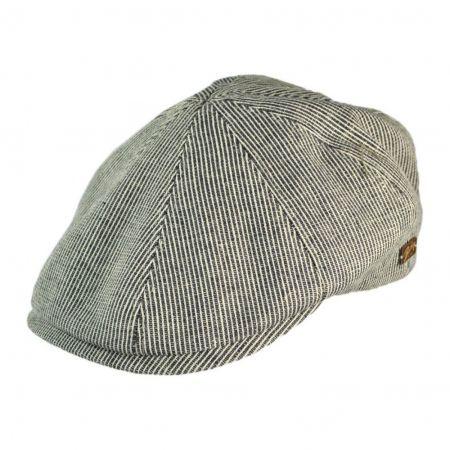 Redford Striped 8/4 Ivy Cap