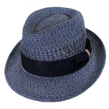 Wilshire Toyo Braid Straw Fedora Hat