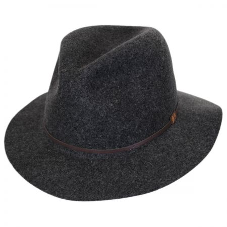 Jackman Rollable Wool Felt Fedora Hat
