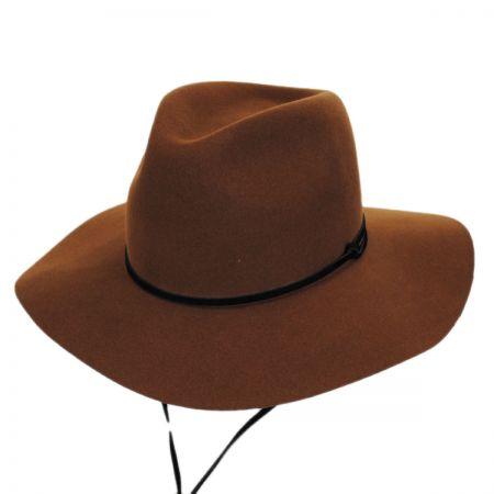 Pantropic Logan Chincord Wool Felt Aussie Fedora Hat