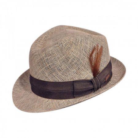 Delano Deep Dip Crown Fedora Hat