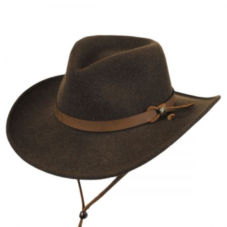 Bailey Morgan Wool LiteFelt Aussie Western Hat