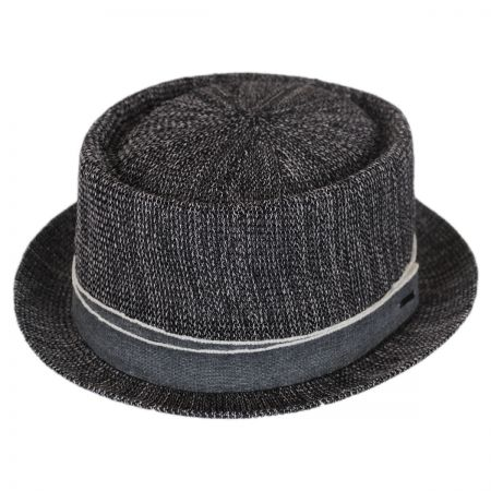 Bailey Runkle Toyo Straw Blend Pork Pie Hat