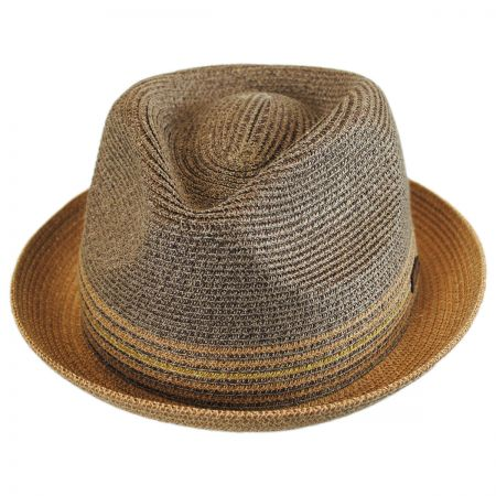 Bailey Hooper Toyo Straw Blend Trilby Fedora Hat