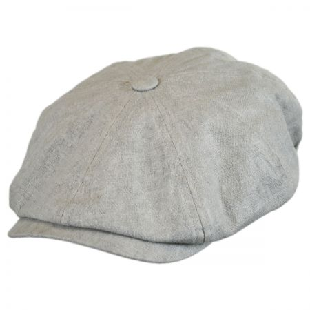 Bailey Cowley Linen Newsboy Cap