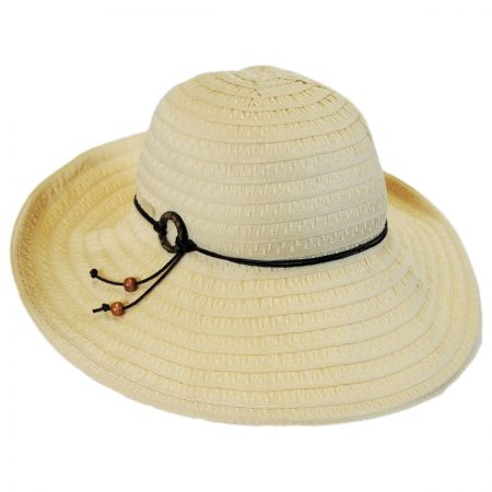 Betmar Safari Ribbon Roller Hat