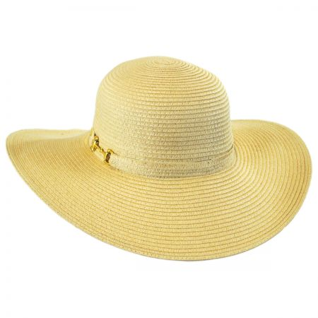 Betmar Selena Toyo Straw Floppy Sun Hat