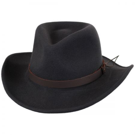 Bailey Caliber Wool LiteFelt Western Hat