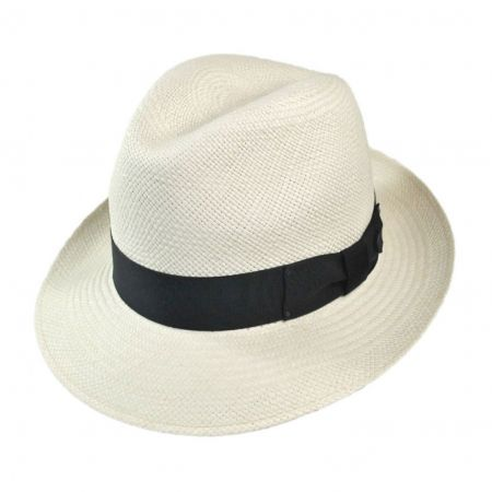 Bailey Thurman Center Dent Panama Fedora Hat