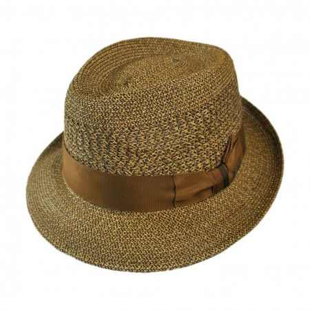 Wilshire Rounded-Teardrop Fedora Hat