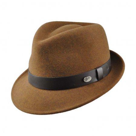 Yates Wool LiteFelt Trilby Fedora Hat