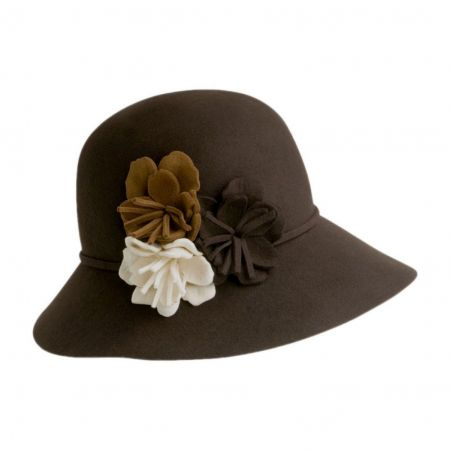 Betmar Fiona Floppy Cloche Hat