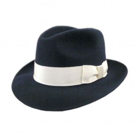 Bollman Hat Company 140 - 1920s Fedora Hat - Made to Order