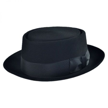 Bollman Hat Company 140 - 1940s Pork Pie Hat - Made to Order
