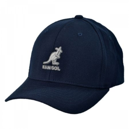 Kangol 3D Logo Flex Fit Baseball Cap