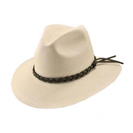 Mendocino Panama Safari Fedora Hat