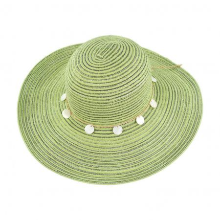 Pantropic Seashell Sadie Sun Hat
