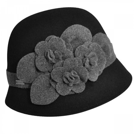 Betmar Claudia Cloche Hat