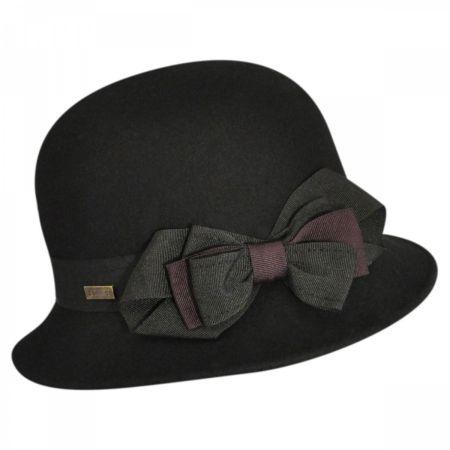 Betmar Pine Cloche Hat