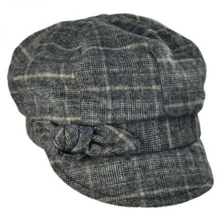 Betmar Adele Plaid Cap