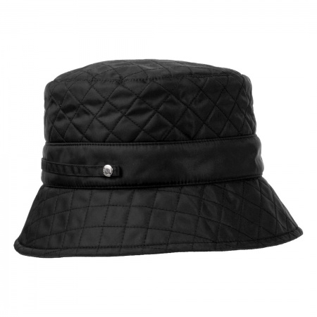 Quilted Nylon Rain Bucket Hat