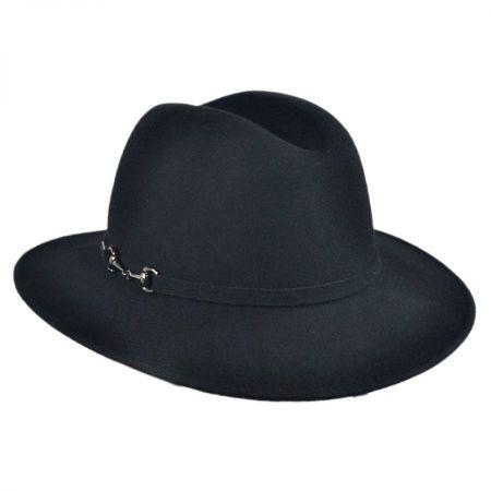 Ivette Scarf Fedora Hat
