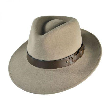 Briset Teardrop Fedora Hat