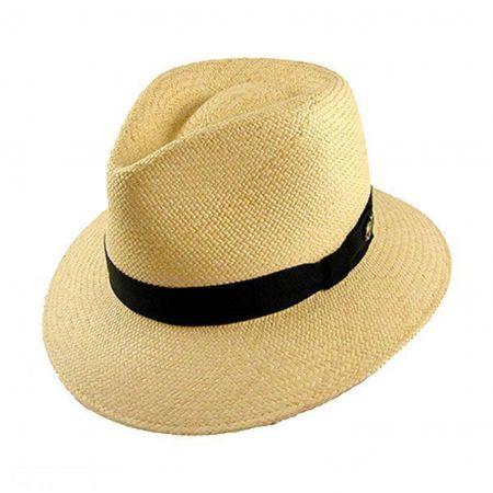 Bailey Brooks Panama Fedora Hat