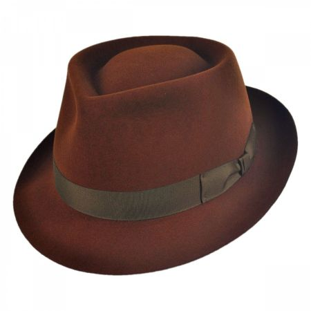 Duffy Fur Felt Fedora Hat