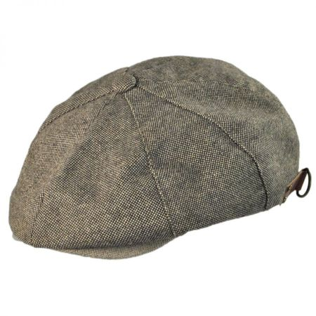 Kangol Donegal Tweed Ripley Newsboy Cap