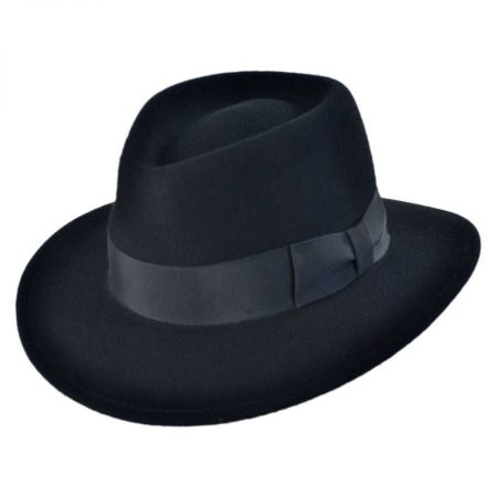 Pantropic Robin Crushable Fedora Hat