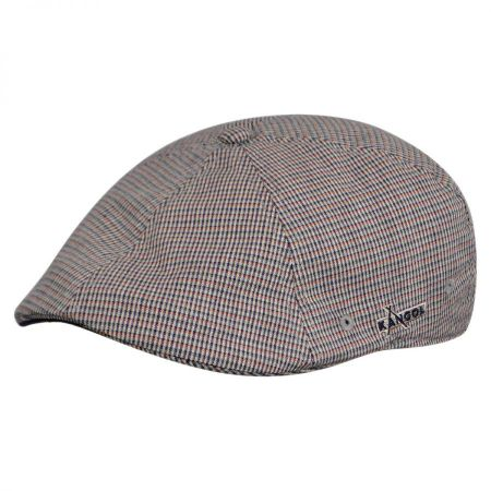 Kangol Deco Plaid Flex Fit Ivy Cap