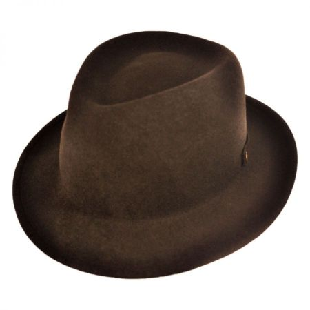 Bailey Cleve Roll Up Crushable Fedora Hat
