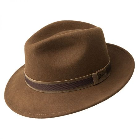 Bailey Gaston Litefelt Fedora Hat
