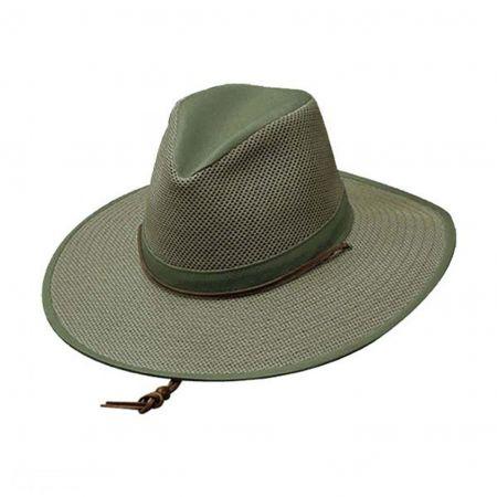 3.5 Inch Mesh Aussie Hat