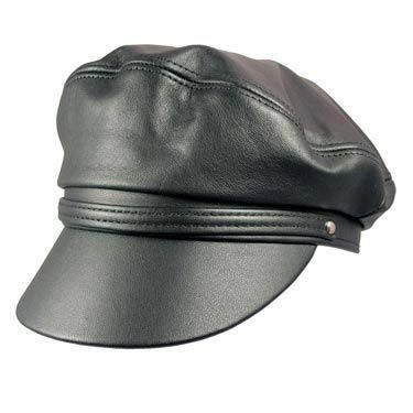 Henschel Leather Brando Cap